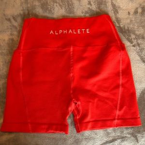 Alphalete r6 shorts medium